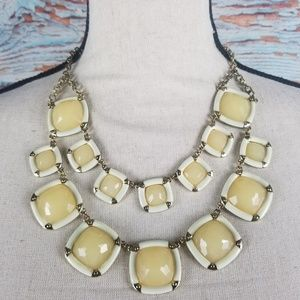 Jewelry - Yellow Square Statement necklace